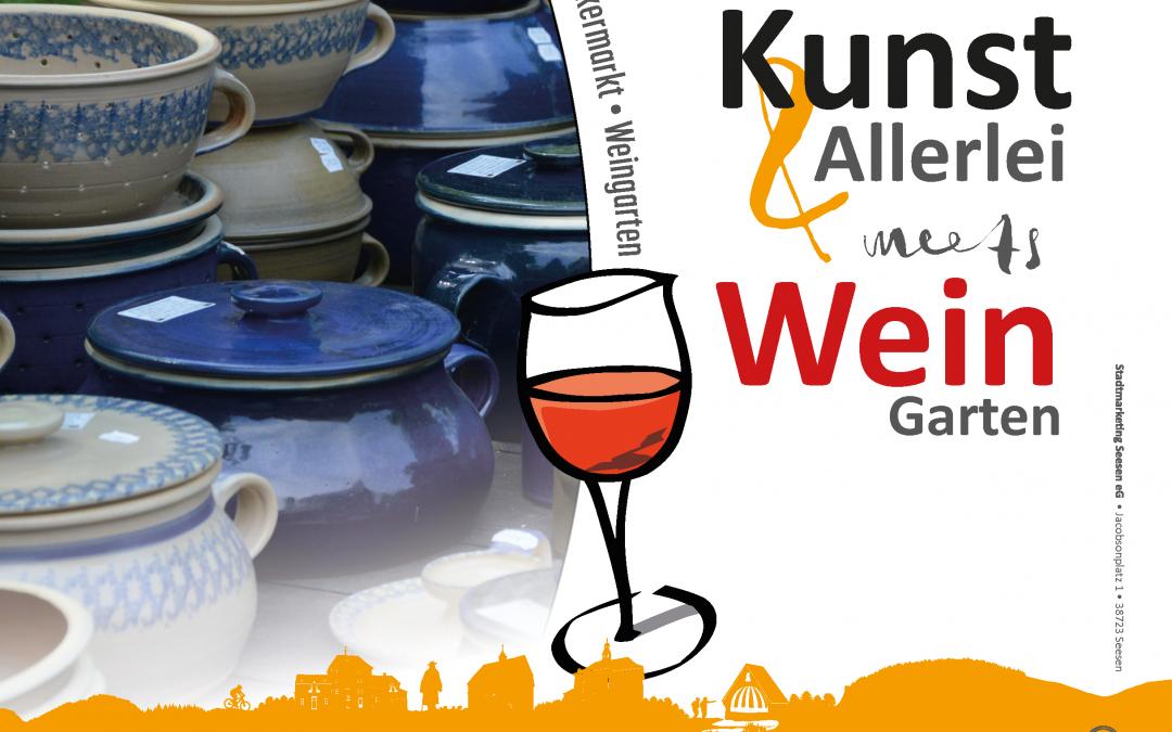 Kunst & Allerlei meets WeinGarten